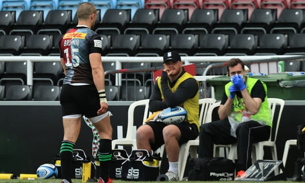 Mike Brown's Harlequins career over after six-week ban for stamping