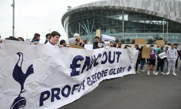 Tottenham fans want power on board amid concern of token gesture by club